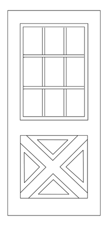 Wescon doors british columbia canada for 9 lite crossbuck exterior door
